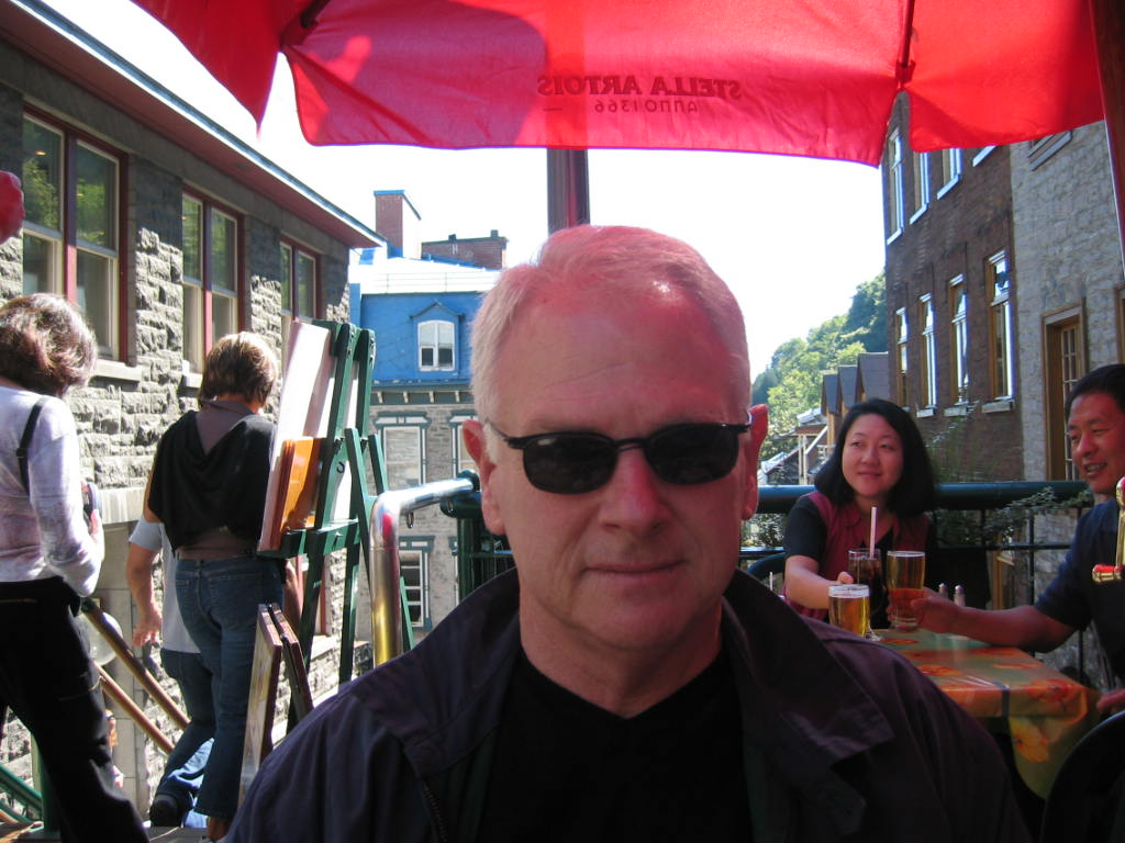 Philip in Quebec City